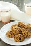 Pumpkin oat cookies Stock Photography