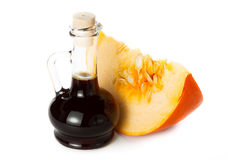 Pumpkin oil Royalty Free Stock Photo