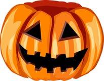Pumpkin. Orange pumpkin for happy halloween Royalty Free Stock Image