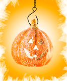 Pumpkin orange toy/ halloween party Stock Image