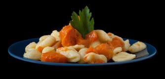 Pumpkin Pasta Royalty Free Stock Photos