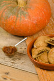 Pumpkin pastry Royalty Free Stock Photography