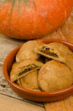 Pumpkin pastry Stock Photography