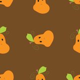 Pumpkin pattern Stock Photos
