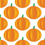 Pumpkin pattern Stock Image