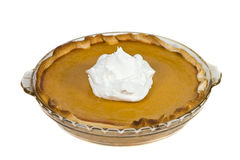 Pumpkin pie. Stock Photography