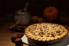 Pumpkin Pie Stock Photography