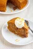 Pumpkin pie Stock Image