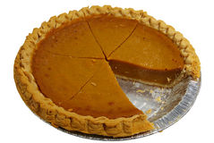 Pumpkin pie. Royalty Free Stock Images