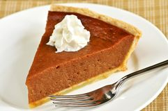 Pumpkin Pie Royalty Free Stock Images