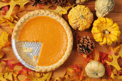 Pumpkin Pie royalty free stock image