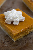 Pumpkin Pie Bars Stock Photo