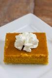Pumpkin Pie Bars Stock Images
