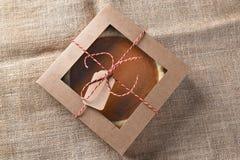 Pumpkin Pie in Box Royalty Free Stock Image