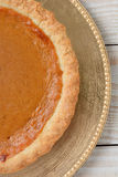 Pumpkin Pie Closeup Royalty Free Stock Images