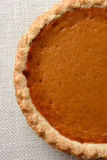 Pumpkin Pie Closeup Stock Photography