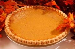 Pumpkin pie dessert Stock Image