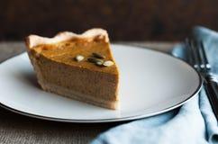 Pumpkin Pie Royalty Free Stock Photography