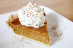 Pumpkin Pie Royalty Free Stock Photo