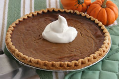 Pumpkin Pie - Home Baked Royalty Free Stock Image