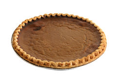 Pumpkin Pie Isolated Royalty Free Stock Photography