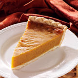 Pumpkin pie plain all in focus Stock Images