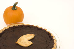 Pumpkin Pie and Pumpkin Royalty Free Stock Photos