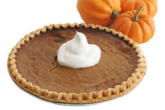 Pumpkin Pie & Pumpkins Stock Images