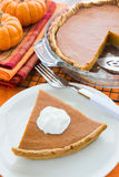 Pumpkin Pie Royalty Free Stock Photography