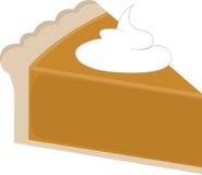 Pumpkin Pie Slice Stock Photography