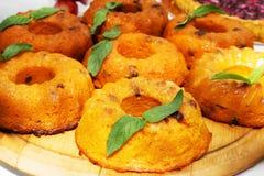 Pumpkin pie smorgasbord Royalty Free Stock Photo