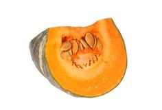 Pumpkin piece Royalty Free Stock Photos