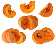 Pumpkin and piece Stock Images