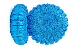 Thai silk 2Pumpkin Pillow Stock Photography