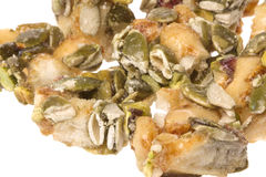 Pumpkin and Pistachio Bites Isolated Stock Photography