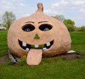 Pumpkin Playhouse Stock Photo