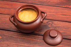 Pumpkin porridge Royalty Free Stock Images