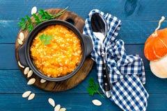 Pumpkin porridge Royalty Free Stock Photography