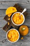 Pumpkin porridge Royalty Free Stock Photo