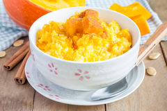 Pumpkin porridge Royalty Free Stock Photos