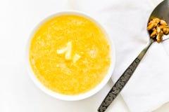 Pumpkin porridge Stock Image