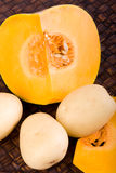 Pumpkin and Potato Stock Photography