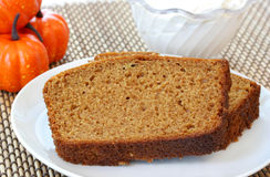 Pumpkin Pound Cake Stock Image