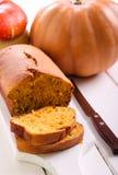Pumpkin pound cake Stock Photos