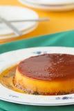 Pumpkin pudding. Whole pumpkin pudding on a dish Royalty Free Stock Photos