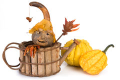 Pumpkin puppet Royalty Free Stock Images