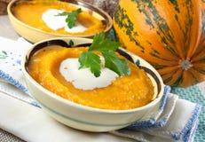 Pumpkin Puree royalty free stock photography