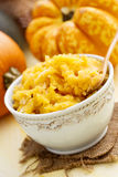 Pumpkin puree Stock Images