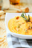 Pumpkin puree with rosemary Stock Photography