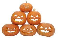 Pumpkin pyramid Royalty Free Stock Image